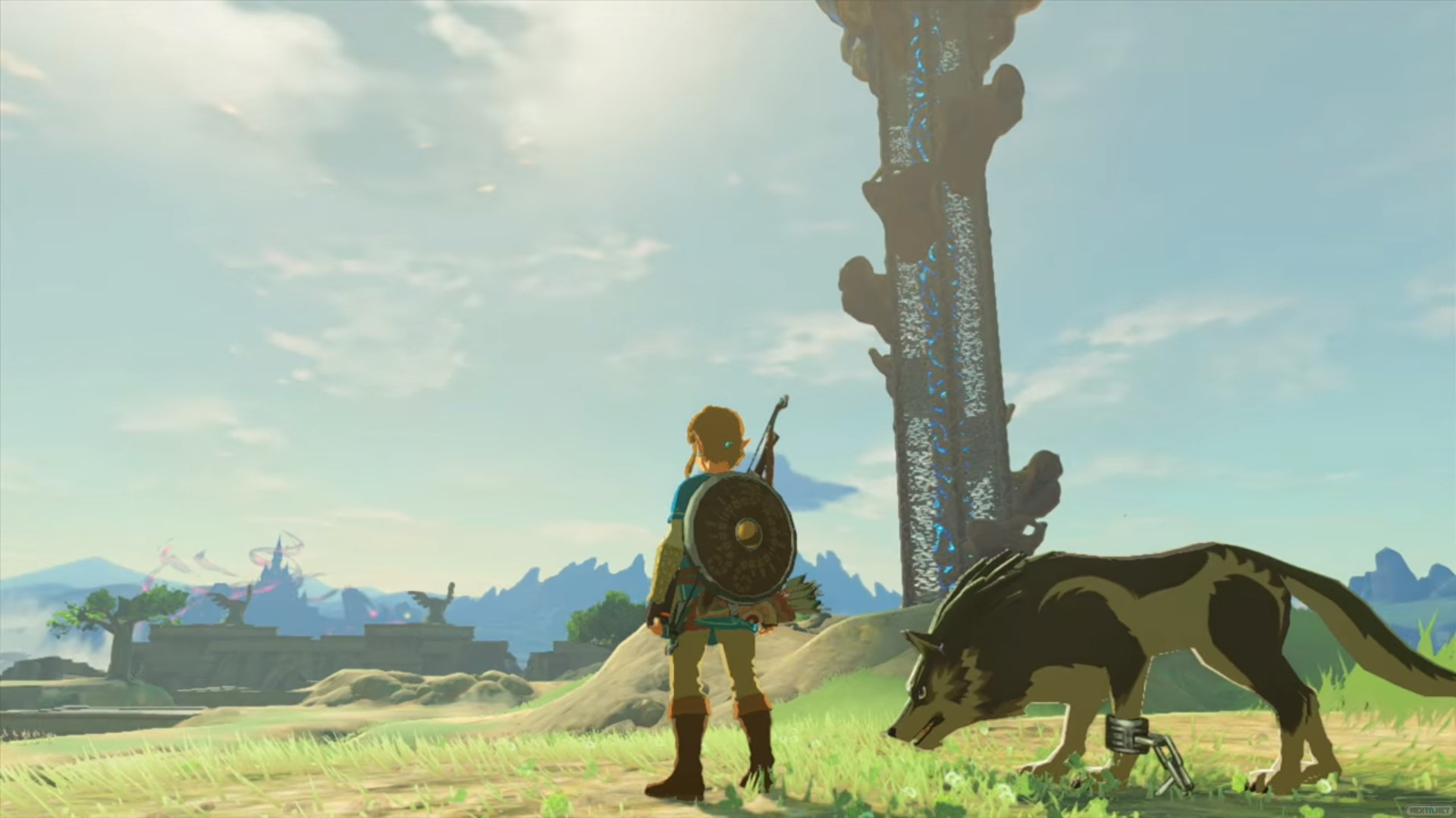 Link Lobo Zelda Breath of the Wild