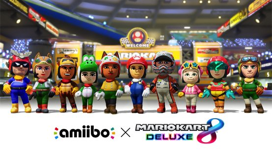 Mario Kart 8 Deluxe - Amiibo