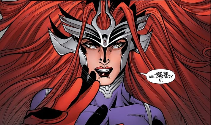 Medusa - The Inhumans