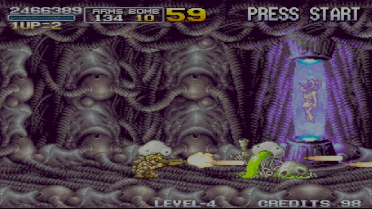 Metal Slug 3 Swirch