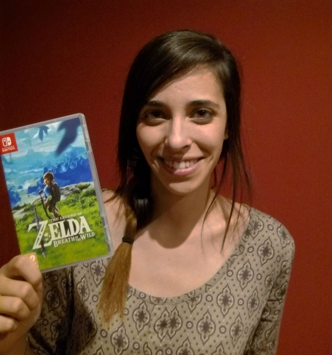 Voz Zelda español Breath of the Wild