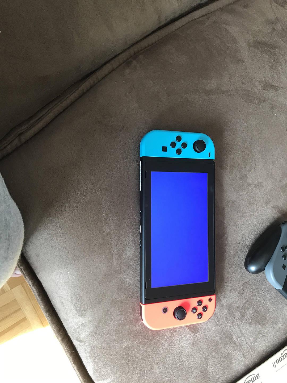 Nintendo Switch - Pantalla azul de la muerte