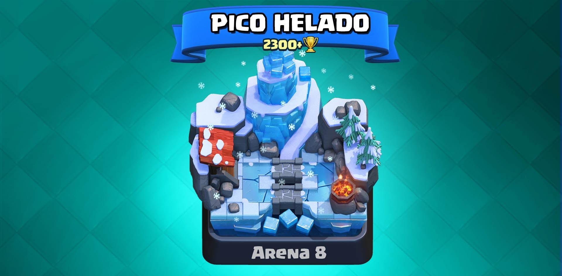 Pico Helado Clash Royale Arena 8