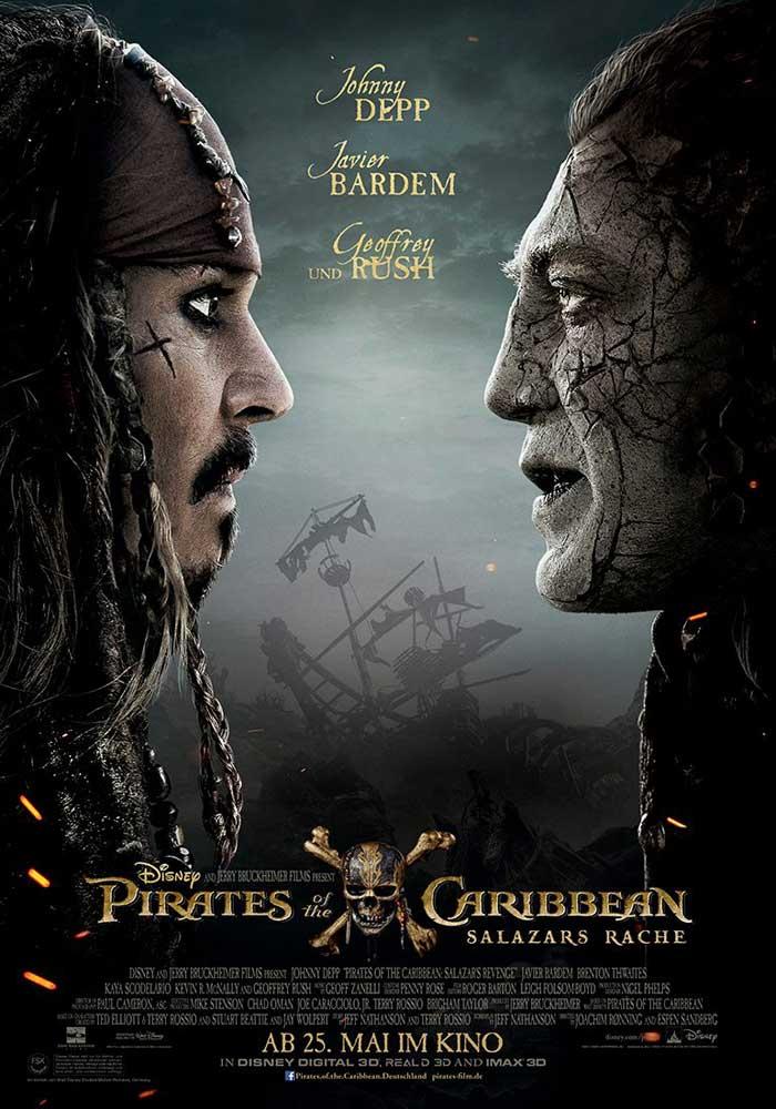 Jack Sparrow, Salazar, Javier Bardem