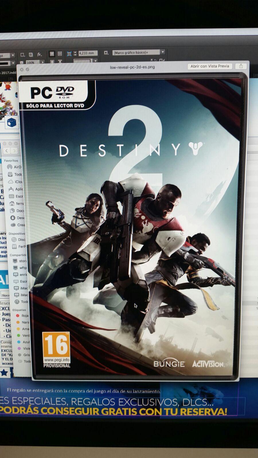 Portada de Destiny 2 para PC