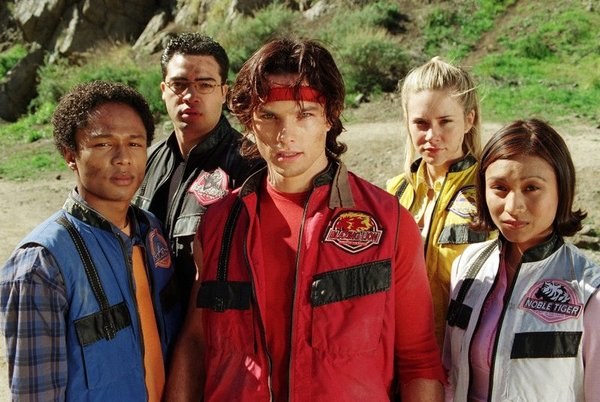 Power Rangers serie