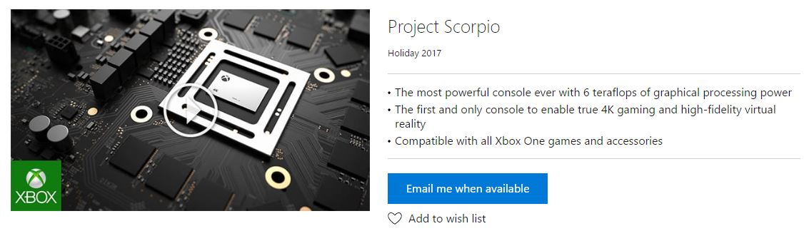 Project Scorpio 4k reales