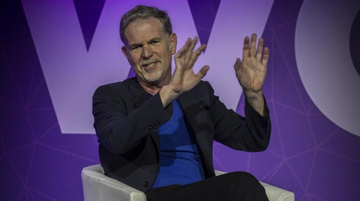 Reed Hastings, cofundador y consejero delegado de Netflix