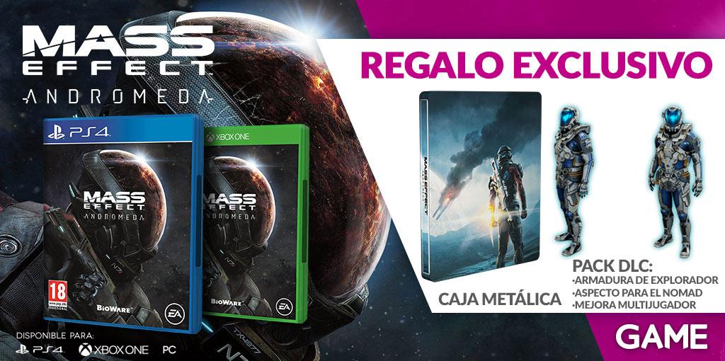 Regalos de reserva de Mass Effect Andromeda en GAME