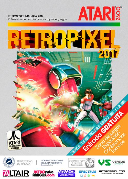 RetroPixel Málaga 2017 - Cartel