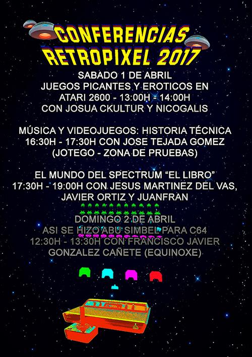 RetroPixel Málaga 2017 - Conferencias
