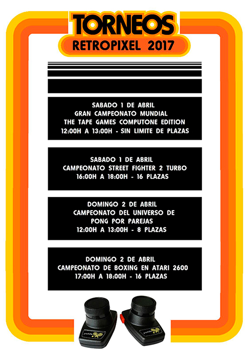 RetroPixel Málaga 2017 - Torneos