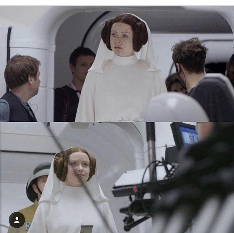 Rogue One pre CGI