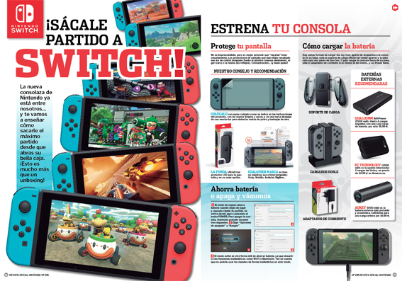 Sácale partido a Switch