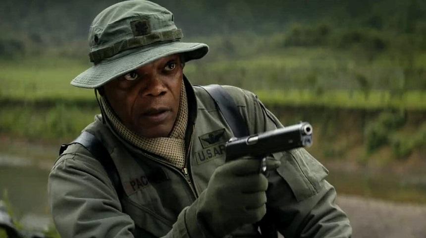 Samuel L. Jackson en Kong: La Isla Calavera