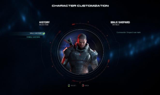 Shepard en Mass Effect Andromeda