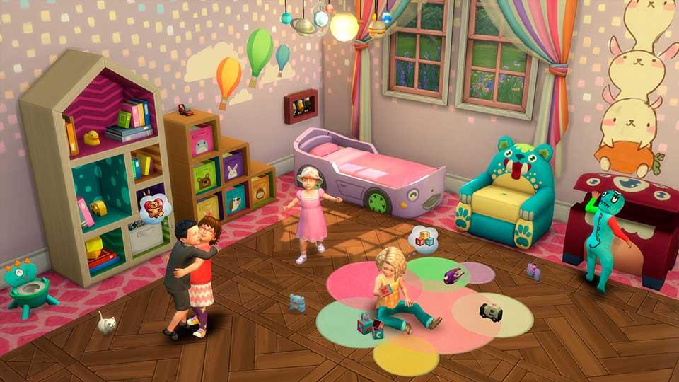 Los Sims 4 Infantes Universo Los Sims 8