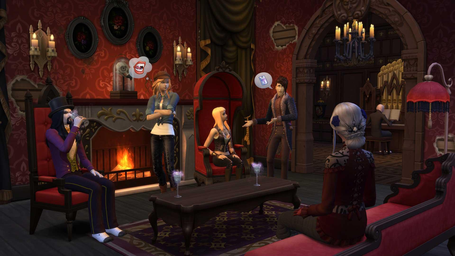 Los Sims 4 Vampiros Universo Los Sims 8