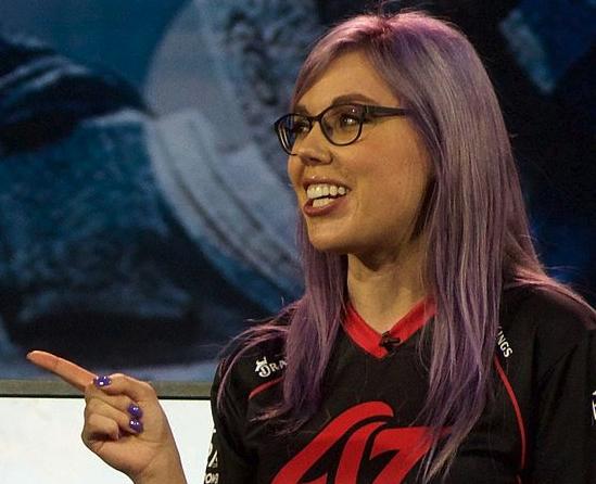 Stephanie Harvey, jugadora profesional de e-sports.