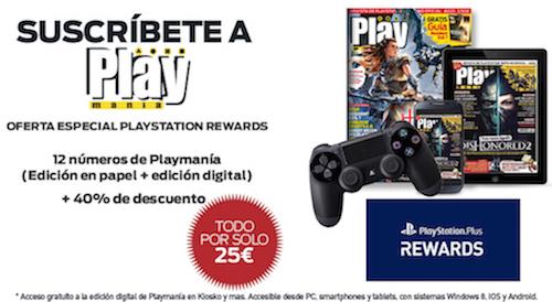 Suscripción a Playmanía por 25 euros