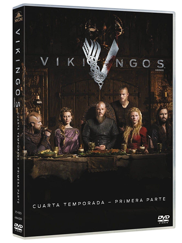 Vikings Temporada 4 Blu Ray