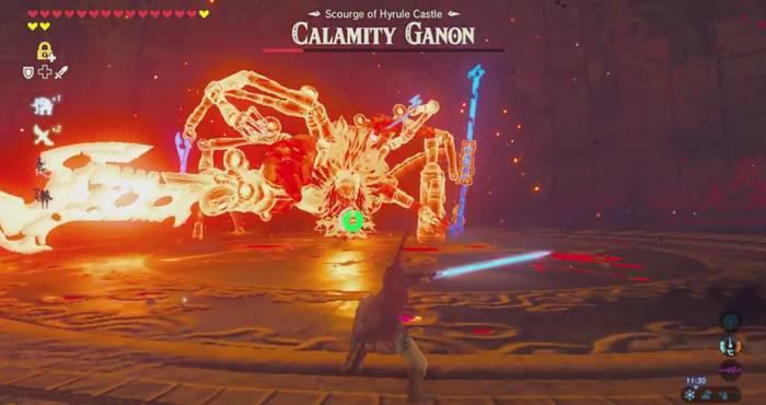 Zelda Breath of the Wild Ganon 01