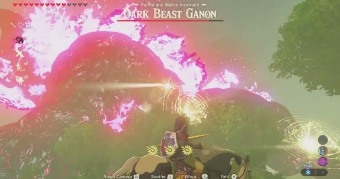 Zelda Breath of the Wild Ganon 03