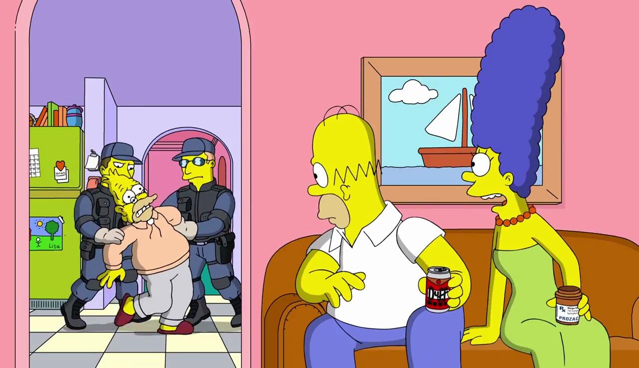 Los 100 primeros días de Trump según Los Simpson