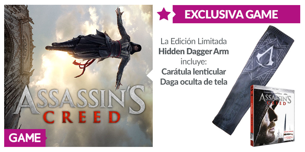 Assassin's Creed Blu-Ray GAME