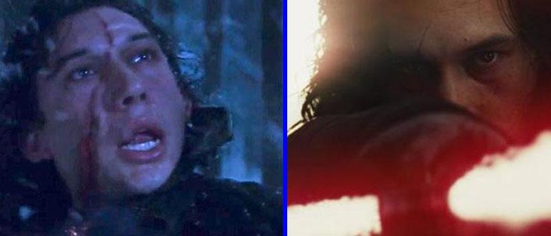 cicatriz Kylo Ren - Star Wars