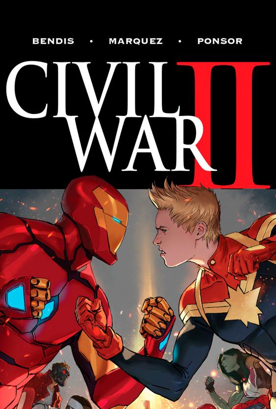 Civil War II (Cómic) - Cartel