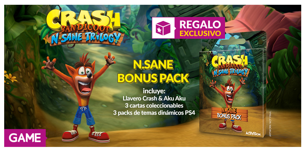 Crash Bandicoot N. Sane Trilogy GAME