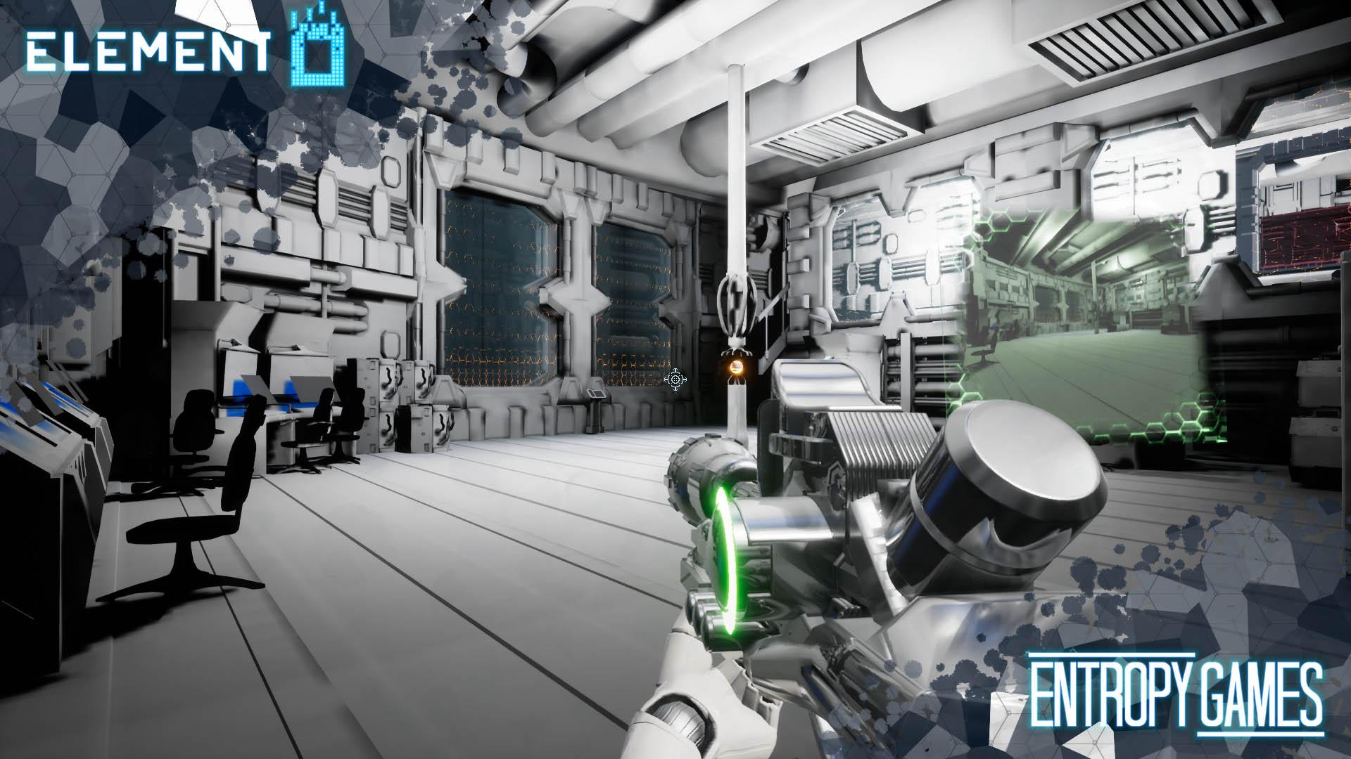 U-tad Diarios de Desarrollo Entropy Games