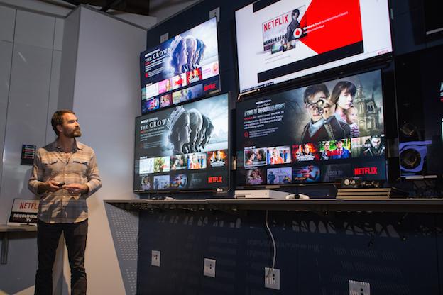 Distintos dispositivos con Netflix