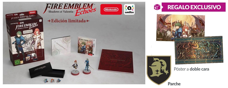 Fire Emblem Echoes Shadows of Valentia - Regalo exclusivo en GAME