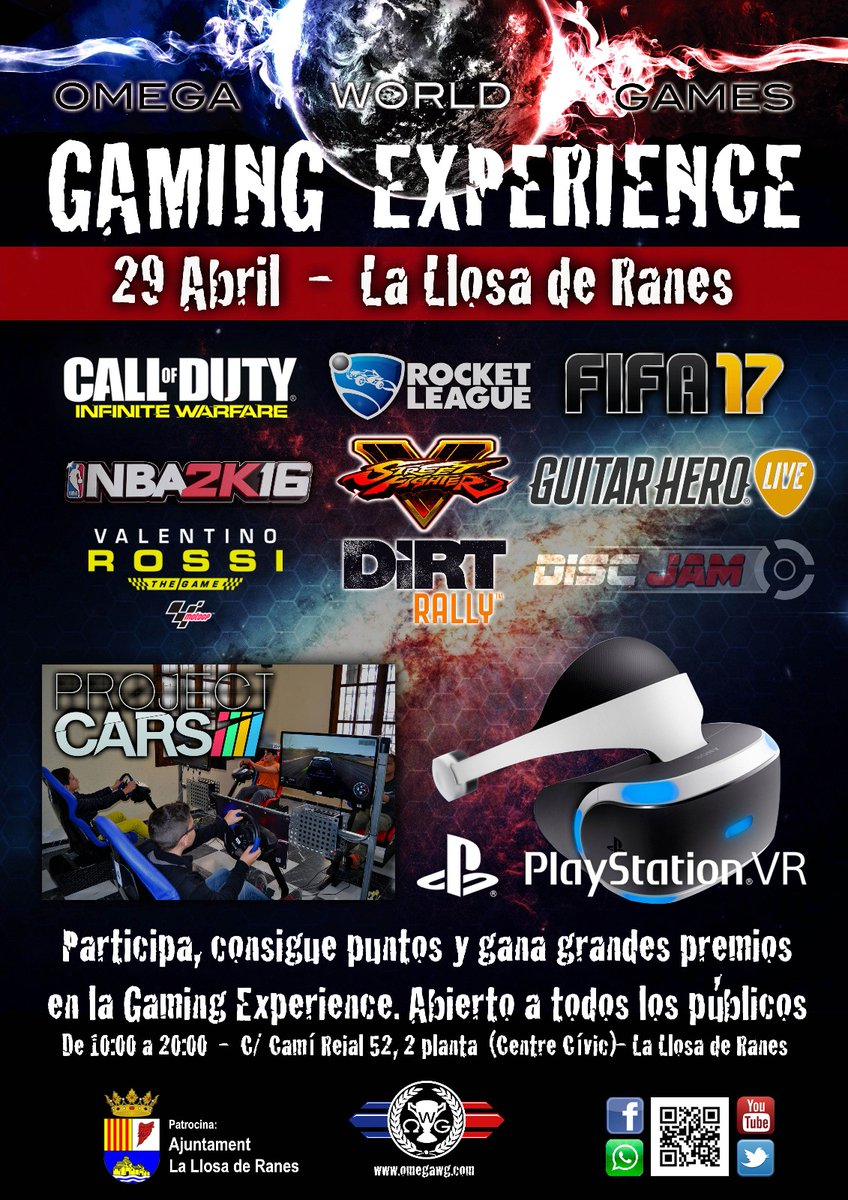 Gaming Experience Llosa de Ranes