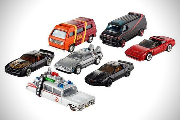 Hot Wheels modelos famosos de coches