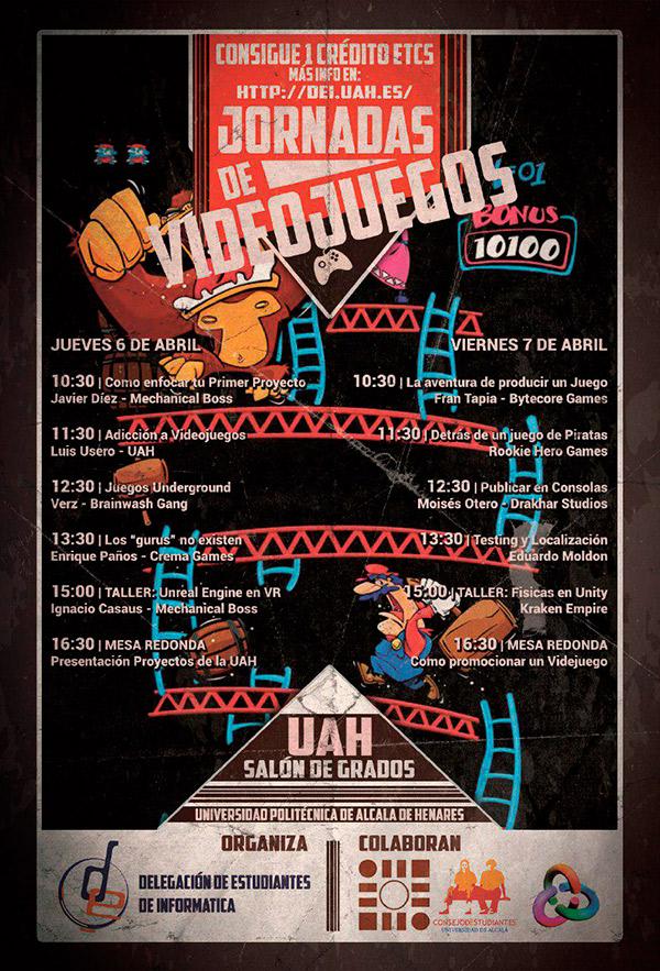III Jornadas de Videojuegos de UAH