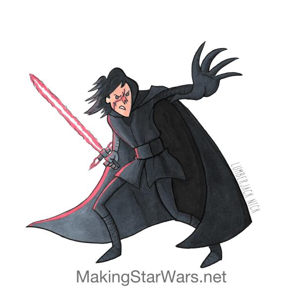 Kylo Ren en Star Wars VIII