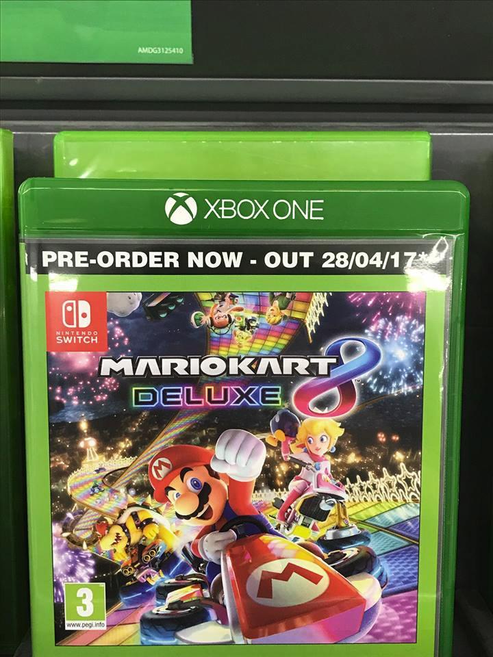 Mario Kart 8 Deluxe Para Xbox One Segun Una Tienda Britanica
