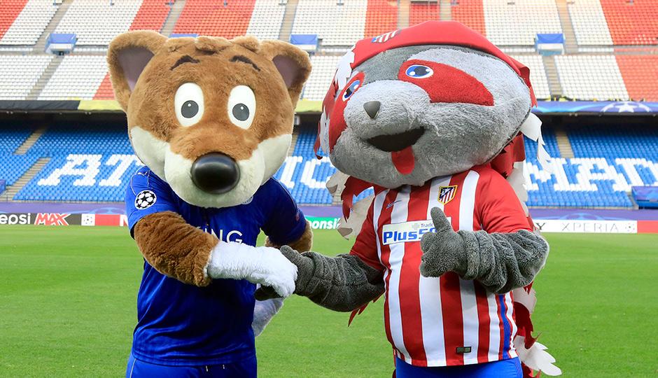 Mascotas Atletico Leicester