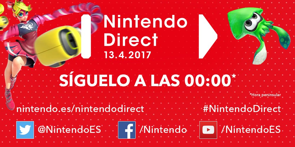 Nintendo Direct Splatoon 2 y ARMS