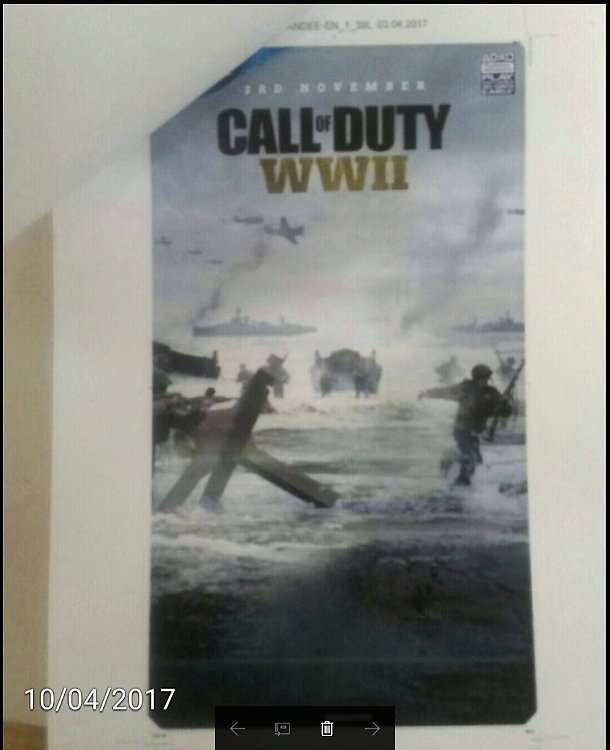 Posible fecha de Call of Duty WWII