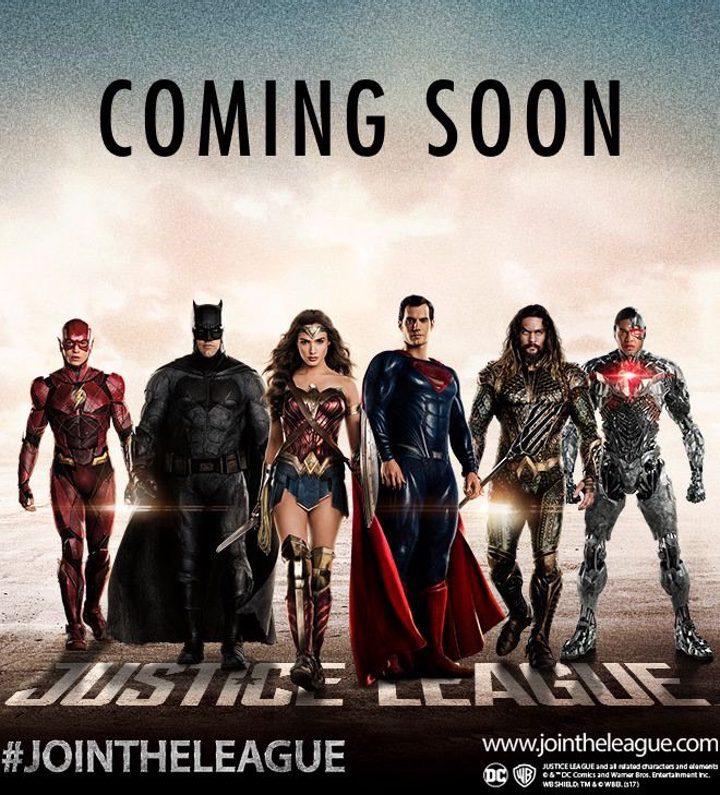 Póster promocional La Liga de la Justicia