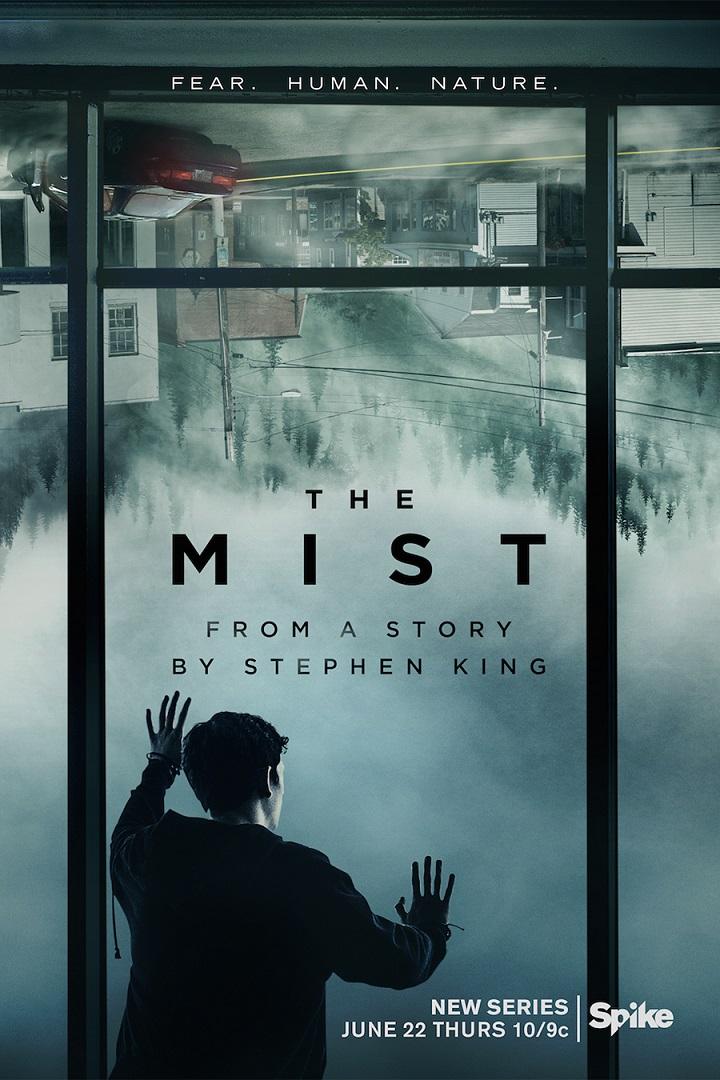 Póster promocional de The Mist
