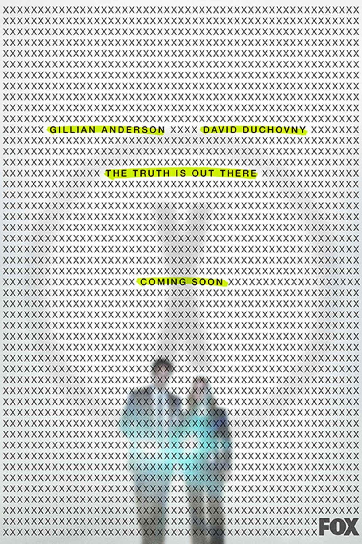 Poster promocional de la Temporada 11 de Expediente X