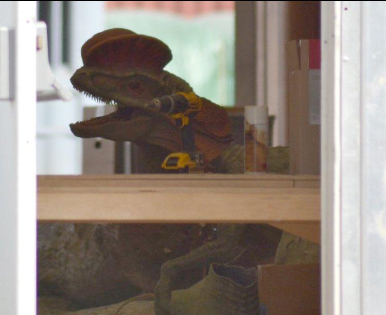 Primeras imágenes de los dinosaurios de Jurassic World 2