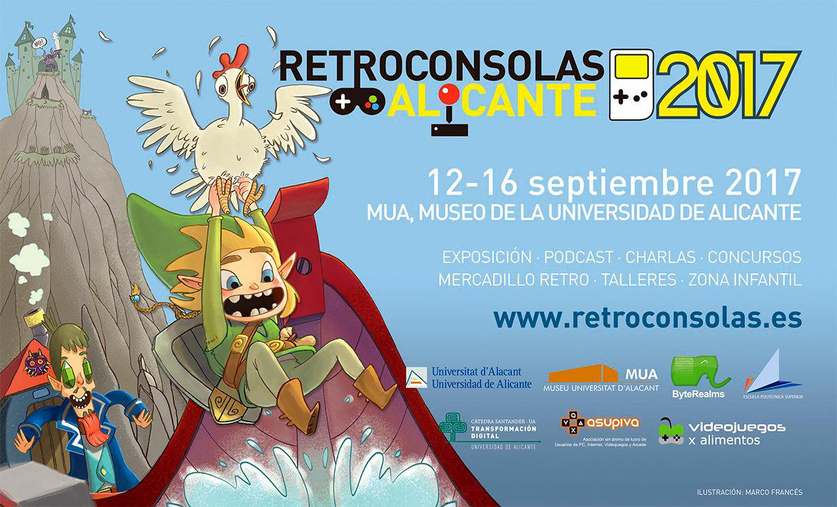Retroconsolas Alicante 2017 - Cartel