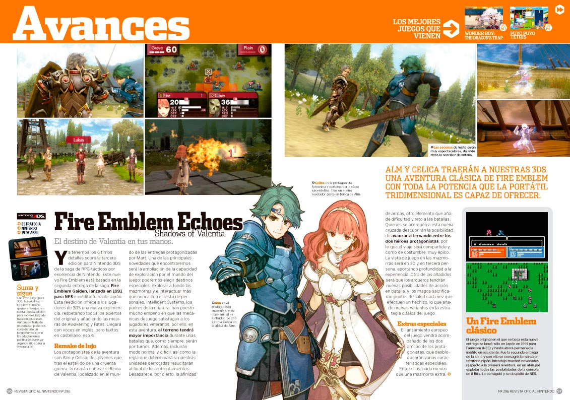 RON 296: Fire Emblem Echoes Shadows of Valentia