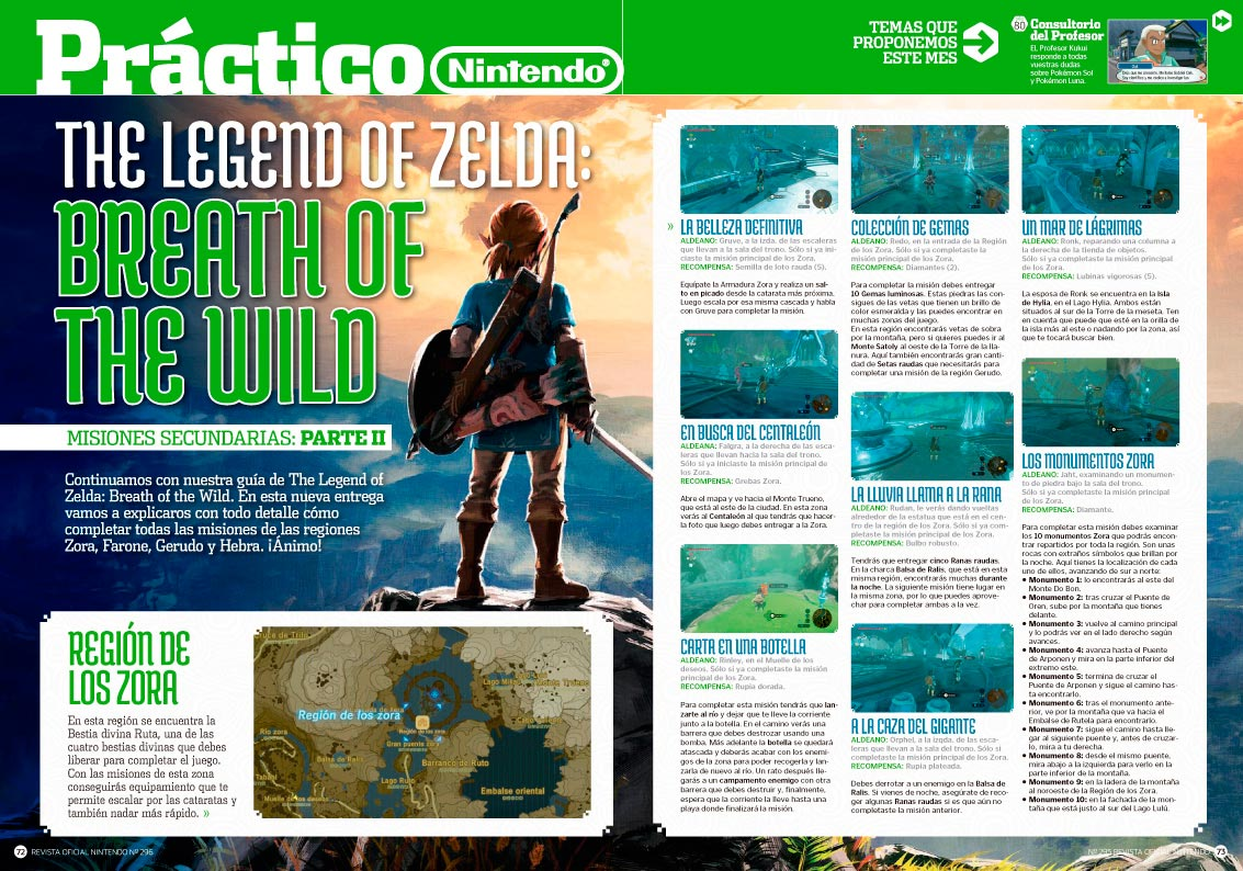 RON 296: Trucos Zelda